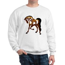jasper brown horse Sweatshirt