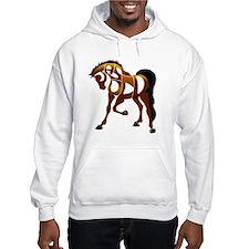 jasper brown horse Hoodie