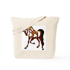 jasper brown horse Tote Bag