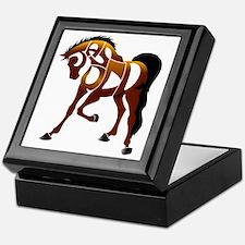 jasper brown horse Keepsake Box