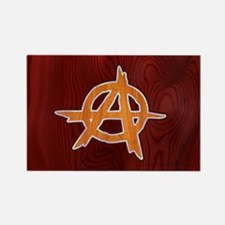 anarchy-wood-CRDh Rectangle Magnet