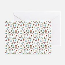 Kids All Over Print T-Shirt-Robots-R Greeting Card