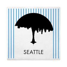 Seattle City Logo Queen Duvet