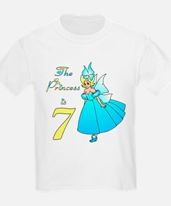 Fairy Princess Age 7 T-Shirt