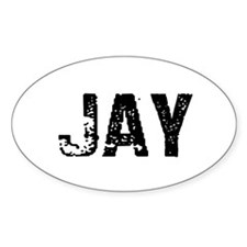Jay Oval Decal