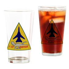 F-111F Aardvark - 495th TFS Drinking Glass