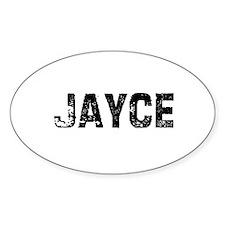 Jayce Oval Decal