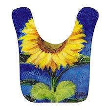 Solitary Sunflower Bib