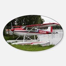 Cessna Float Plane (red, white & bl Decal