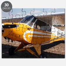 Piper Cub Aircraft (yellow & white) Puzzle