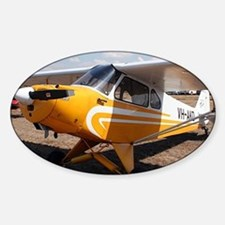 Piper Cub Aircraft (yellow & white) Decal