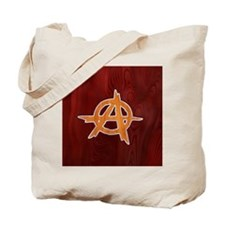 anarchy-wood-BUT Tote Bag