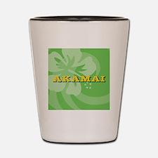 Akamai Round Car Magnet Shot Glass
