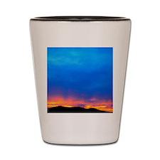 SD Sunset 4X6 Shot Glass