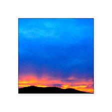 "SD Sunset 4X6 Square Sticker 3"" x 3"""