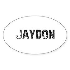 Jaydon Oval Decal