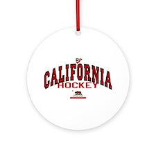 Cali Hockey Ornament (Round)
