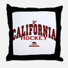 Cali Hockey Throw Pillow