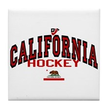 Cali Hockey Tile Coaster