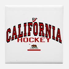 Cali Hockey Tile Coaster