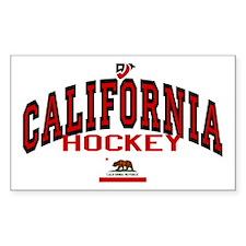 Cali Hockey Rectangle Decal