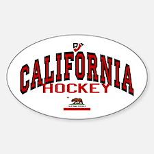 Cali Hockey Oval Decal