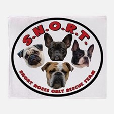 S.N.O.R.T. Logo Throw Blanket