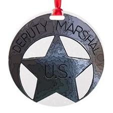 Deputy Marshal U.S. Ornament