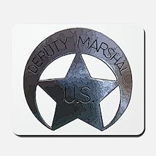 Deputy Marshal U.S. Mousepad
