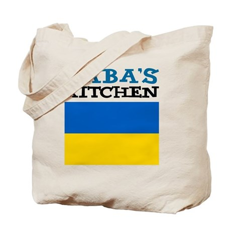 Babas Kitchen Apron Tote Bag