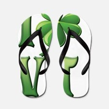 I Love Vermont Flip Flops