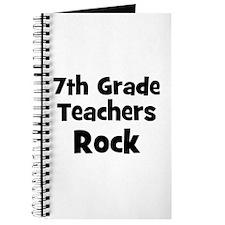 7th Grade Teachers Rock Journal