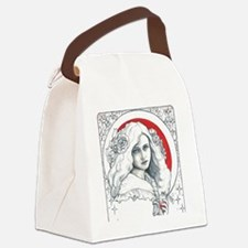 Alice Nouveau Canvas Lunch Bag