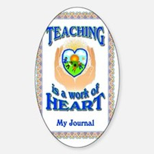 Work of Heart JRNL Decal