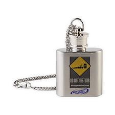 Do Not Disturb Flask Necklace