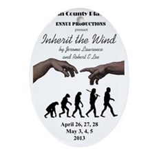 Inherit the Wind (RCP) Oval Ornament