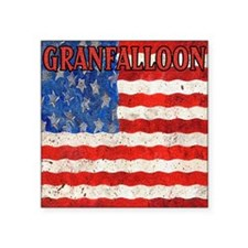 "Granfalloon Square Sticker 3"" x 3"""