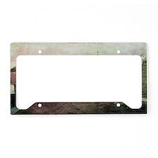 Lombar Avenue Iberia Missouri License Plate Holder