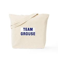 Team GROUSE Tote Bag