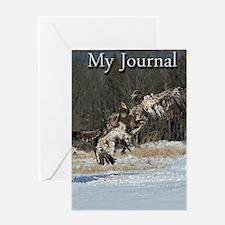 5x8_journal 4 Greeting Card