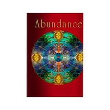 abundance 2 Rectangle Magnet