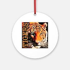 Tigers Premium Edition Round Ornament