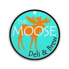 MOOSE_logo_FNL Round Ornament