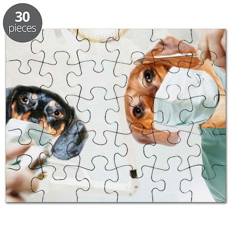 Dentist Visit Doxies Puzzle