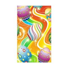 Happy Easter Eggs Design Decal