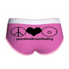 PeaceLoveBreastfeeding Women's Boy Brief