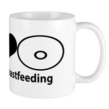 PeaceLoveBreastfeeding Mug