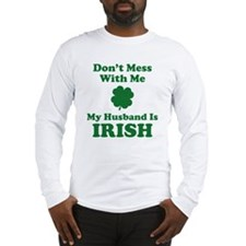 messHusbandIrish1C Long Sleeve T-Shirt