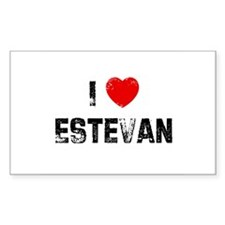 I * Estevan Rectangle Decal