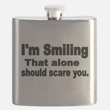 Im Smiling. That alone should scare you. Flask